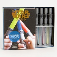 'Star Wars Cook Book' Lightsaber Ice-Pop Molds & Cookbook