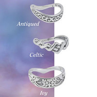 Sterling Silver Celtic Thumb Ring - New Age & Spiritual Gifts at Pyramid Collection