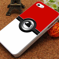 Pokemon Pokeball iPhone 5C Case, iPhone 5/5S Case, iPhone 4/4S Case, Durable Hard Case USPSSHOP