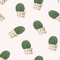 Prickly Pals Removable Wallpaper