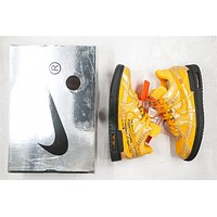 OW x Nike Air Rubber Dunk CU6015-700 Size 40-46