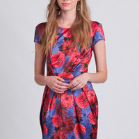 Evening Soiree Floral Dress
