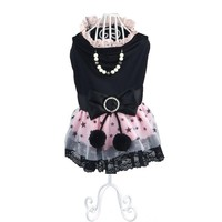 Free Shipping Chicdog Dog Clothes Dog Dress Spring Summer Pet Lace Tulle Skirt Fashion Clothing For Small Large Dogs XS-XL