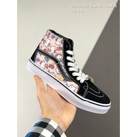 Vans Hello Kitty cheap mens and womens Fashion Canvas Flats Sneakers Sport Shoes