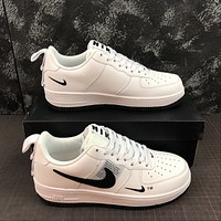 Morechoice Tuhz Nike Air Force 1 Lv8 Utility White Low Sneakers Casual Skaet Shoes Cq4611-100