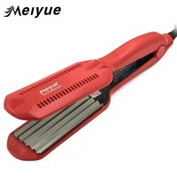 Temperature Control Corrugated Curling Hair Straightener Crimper, Fluffy Small Waves Hair Curlers Curling Irons Styling Tools