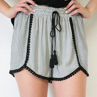 Patterned Party Shorts
