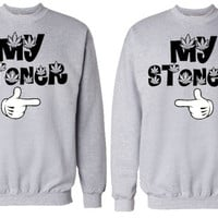 Couples My Stoner Crew Neck