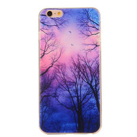 Hollow Out Woods Case Cover for iphone 5s 6 6s Plus + Gift Box 42
