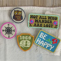 Not  All  Who  Wander  Adventure  Patch  Set  From  Natural  Life