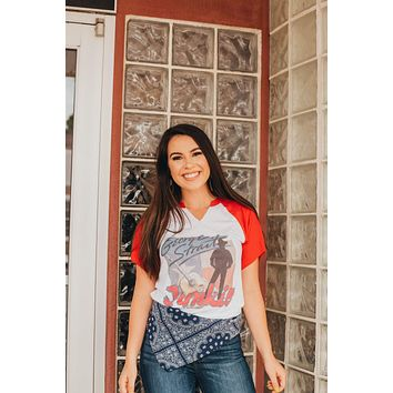 GINA George Strait Junkie Picture Tee
