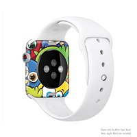 The Big-Eyed Highlighted Cartoon Birds Full-Body Skin Kit for the Apple Watch