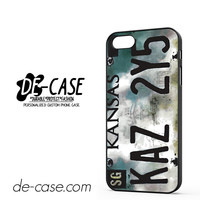Supernatural License Plate TV DEAL-10363 Apple Phonecase Cover For Iphone 5 / Iphone 5S