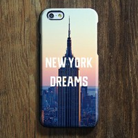 New York Dreams iPhone XR Case iPhone XS Max plus Case Ethnic  SE  4 Case Building City Galaxy S8 S6  Case 093