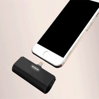 Portable Mini Power Bank for Samusng IPhone Android Mobile 3000mah Powerbank External Battery Backup Charger Without Cable