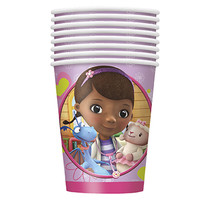 Doc McStuffins 9 oz. Cups [8 Per Pack]