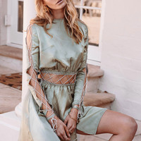 Sage Cage Dress - Dresses by Sabo Luxe