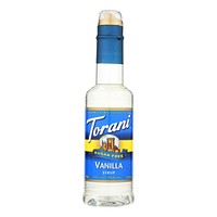 Torani - Coffee Syrup - Sugar Free Vanilla - Case Of 4 - 12.7 Fl Oz.