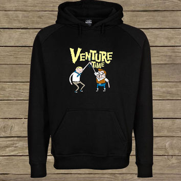 Venture Time parody adventure time Hoodie unisex adults Size S to 2XL