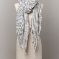 Sisay Lite Scarve Gray & Yellow