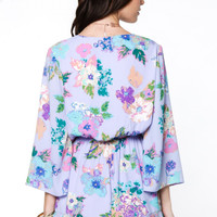 Lovely in Lilac Floral Romper