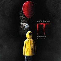 "IT (2017 Movie Poster) Stephen King - Pennywise - 24in x 36in ""FREE 8X10 POSTER"""