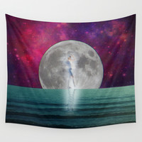 Passing Shadow Wall Tapestry by Shawn King
