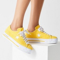 Converse One Star X MadeMe Corduroy Platform Sneaker | Urban Outfitters