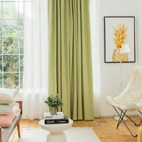 Drapes with Turquoise