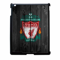 Liverpool FC Wood Style iPad 4 Case
