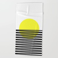 suton Beach Towel by Trebam
