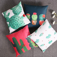 Cactus plants luxury Pillow cushion covers
