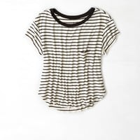AEO Soft & Sexy Swing T-Shirt, Cream | American Eagle Outfitters
