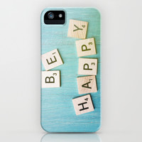 Be Happy iPhone & iPod Case by Olivia Joy StClaire