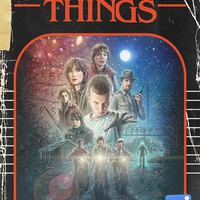 """Stranger Things Vintage Book Cover Poster 11x17"""""""