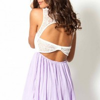 Your Song dress in lilac  | Show Pony Fashion online shopping