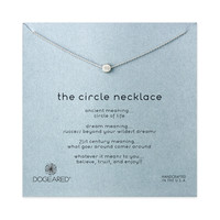 Circle Necklace, Sterling silver   Dogeared
