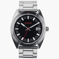 Nixon The Rover Ss Watch Black/Red One Size For Men 24943214001