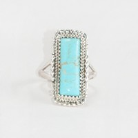 CLEAR SKY TURQUOISE RING