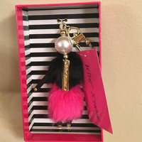 Betsey Johnson Limited Edition Diva Key/Purse Fob