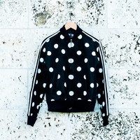 Pharrell Williams x adidas Originals Superstar Tracktop - Black Polka Dot