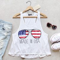 Made in the USA Tank