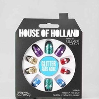 House Of Holland X Elegant Touch Face Ache Faux Nail Set- Multi One