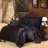 On Sale Bedroom Hot Deal Black Bedding Set [9393094476]