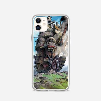 Howl Moving Castle Poster iPhone 11 Case