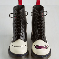 Statement Nightosphere's Looking at You Boot by Dr. Martens from ModCloth
