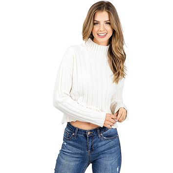 Darling Chenille Knit Sweater