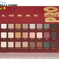 LORAC Mega Pro 32 color eye shadow professional makeup eyeshadow