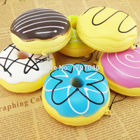 10cm Sweet Roll Charms Big Kawaii Multy-mood Bread Squishy Cell Phone Bag Straps