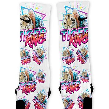 Tiger King Custom Nike Elite Socks